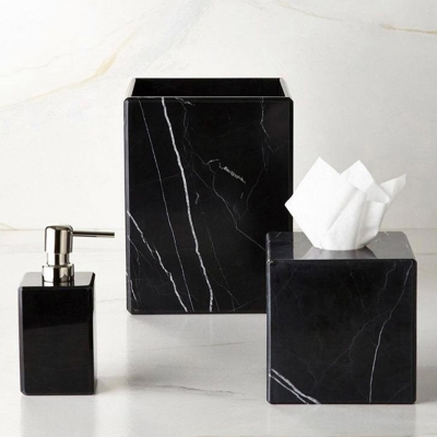 Ceda Marble Triple Bathroom Set