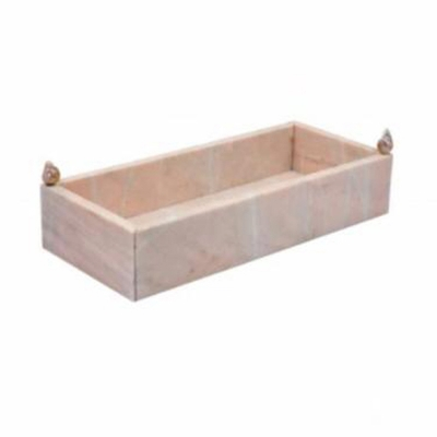 Hira Pink Marble Towel Holder