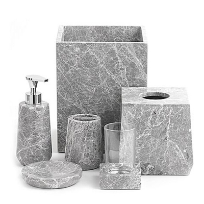 Marble 6-Piece Bathroom Set