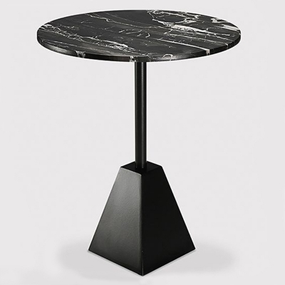 Metal Leg Marble Coffee Table