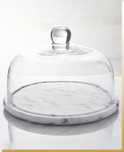 Marble Base Glass Service